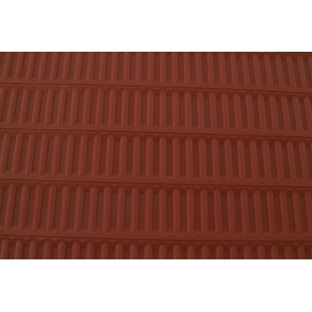 Tapis relief en silicone rayures