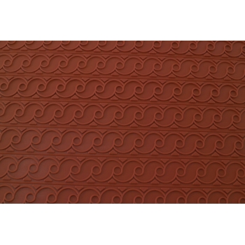 Tapis relief en silicone frise