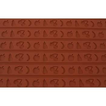Tapis relief en silicone fruits