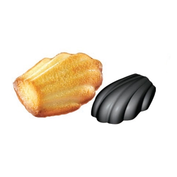 Moules en silicone madeleines