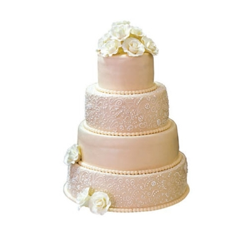 Moule forme cylindrique pour Weeding cakes