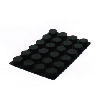 Moule en silicone 24 cylindres
