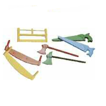 Assortiment 6 outils